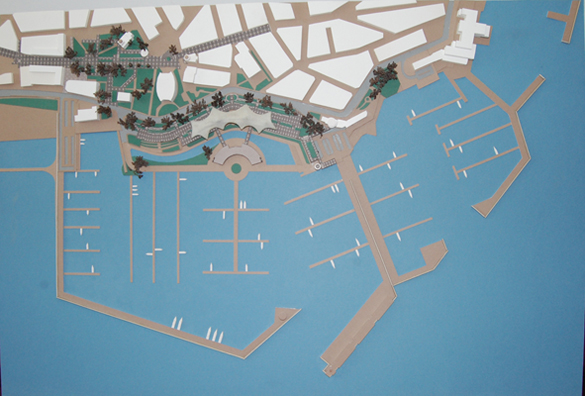 Project for indoor parking, and recreational area in the town of Pomorie