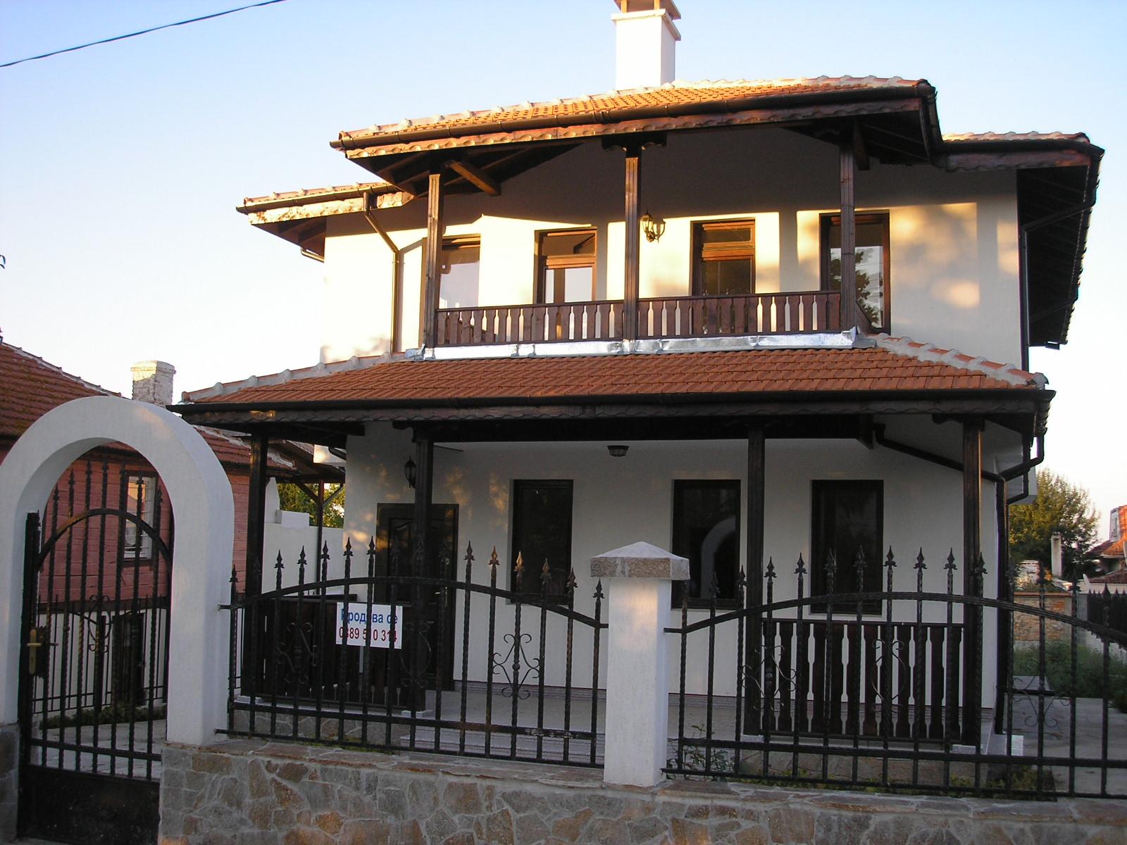 Къщата е завършена до ключ спални